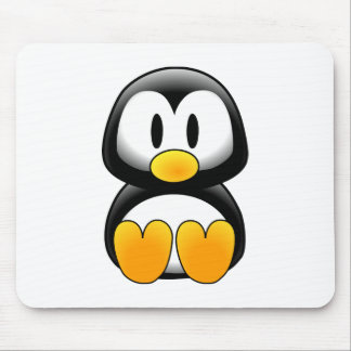 Imagem do tux do pinguim mousepad