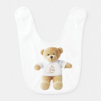 Imagem do urso de ursinho para o babador do bebê
