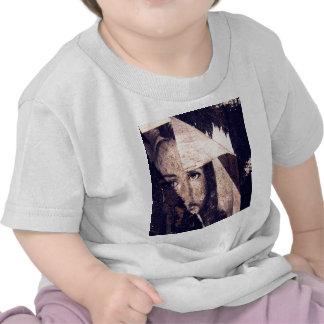 Imagem dos grafites de Jesus do Grunge T-shirt
