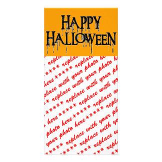 Imagem Drippy feliz do texto do Dia das Bruxas Cartão Com Foto