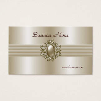 Imagem elegante da pérola do cartão de visita do