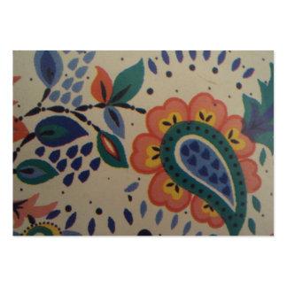 imagem flor em forma de coracão cartão de visita grande