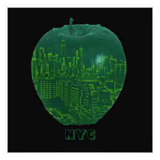 Imagem grande da mistura da maçã da Nova Iorque Impressão De Foto