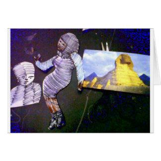 imagem holográfica projetada da máquina do tempo cartão