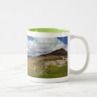 Imagem irlandesa para a caneca branca clássica