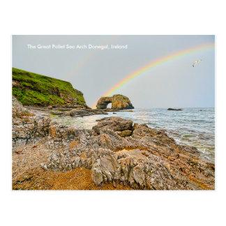 Imagem irlandesa para a caneca branca clássica cartão postal