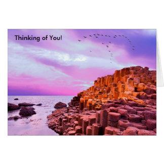 Imagem irlandesa para o cartão