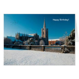 Imagem irlandesa para o cartão do aniversário
