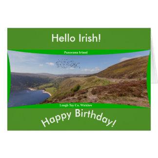 Imagem irlandesa para o cartão irlandês do