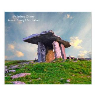 Imagem irlandesa para o foto-impressão impressão de foto