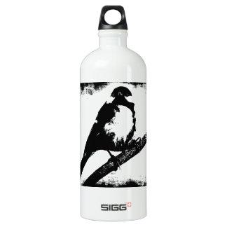 Imagem preto e branco do pássaro