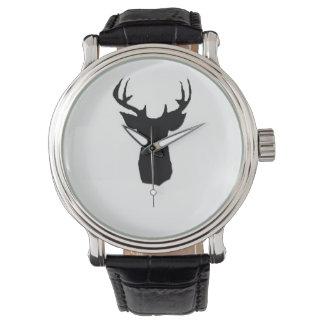 imagem principal dos cervos no relógio