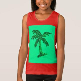 Imagem Sequined suja da palmeira Camiseta