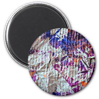 imagem toweling do olhar do grunge das manchas da ímã redondo 5.08cm