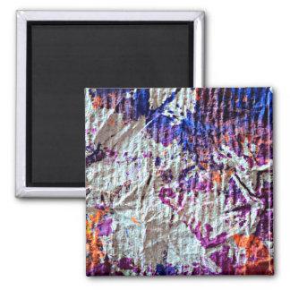 imagem toweling do olhar do grunge das manchas da ímã quadrado