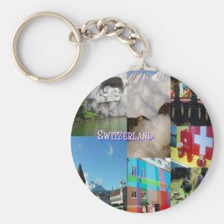 Imagens coloridas da suiça por Celeste Sheffey Chaveiro