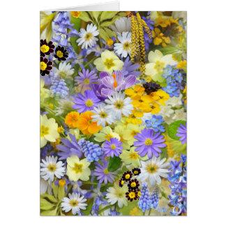imagens com flores cartão de nota