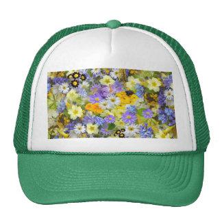 imagens com flores bonés