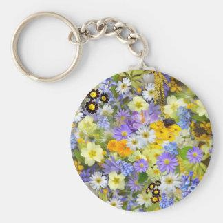 imagens com flores chaveiro