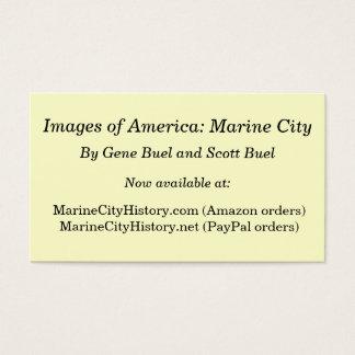 Imagens de América: Cidade marinha Cartão De Visitas