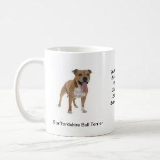 Imagens de Staffordshire bull terrier na caneca