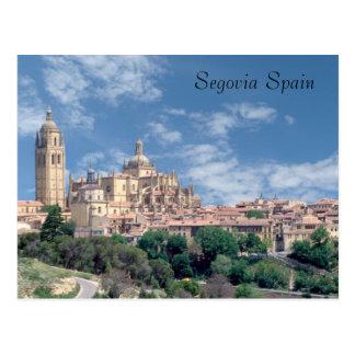 Imagens do cartão da espanha