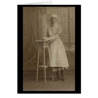 Imagens do cartão das mulheres do vintage