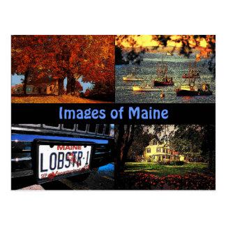 Imagens do cartão de Maine
