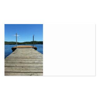 Imagens frente e verso da doca cartão de visita