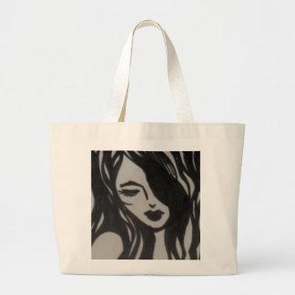 Imagens inspiradas fêmeas de Oranit do artista Bolsas Para Compras