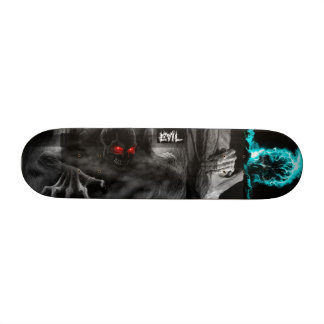 Imagens misturadas da plataforma má skate