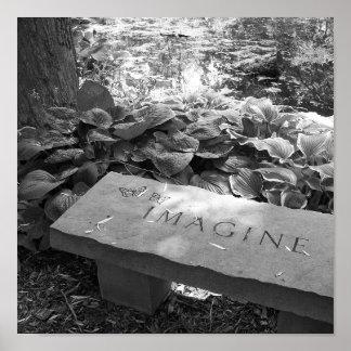"""""""Imagine"""" o impressão das belas artes"""