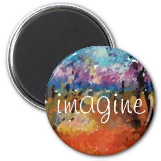 Imagine o óleo do dedo imã