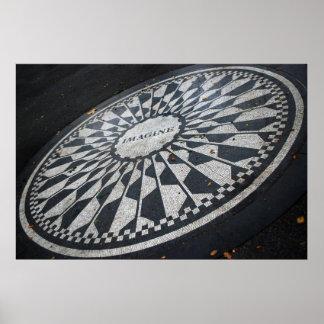 Imagine o poster do mosaico