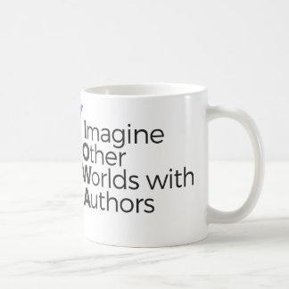Imagine outros mundos com a caneca de café dos