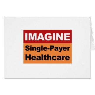 Imagine únicos cuidados médicos do pagador cartão