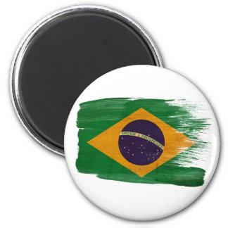 Ímãs da bandeira de Brasil Ímã Redondo 5.08cm