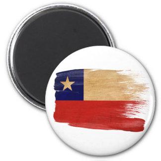 Ímãs da bandeira do Chile Ímã Redondo 5.08cm