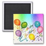 Ímãs da festa de aniversário imã de refrigerador