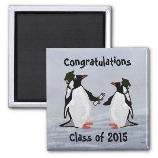 Ímãs da graduação do pinguim imã