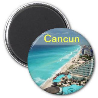 Ímãs de Cancun Ímã Redondo 5.08cm