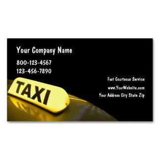 Ímãs do negócio do táxi