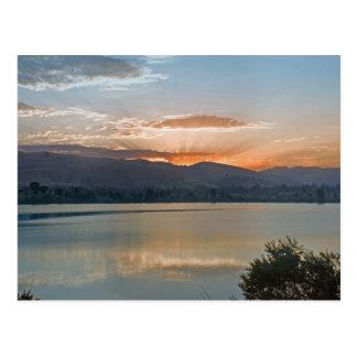 imediatamente antes do nascer do sol, cartão
