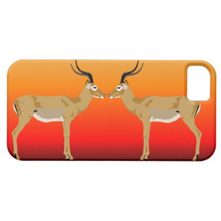 Impalas em capas de iphone do por do sol