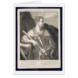 Imperador de M. Silvius Otho do ANÚNCIO de Roma 68