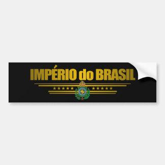 """Império de Brasil "" Adesivo Para Carro"