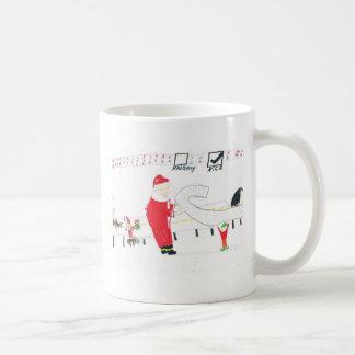 Impertinente ou agradável caneca de café
