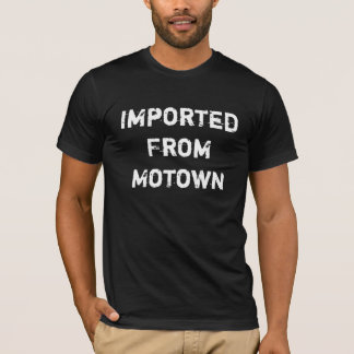 Importado de Motown Tshirt