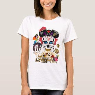 Importante da rainha do casino do pirata lido camiseta