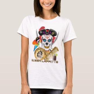 Importante da rainha Lafitte do pirata lido sobre Tshirts